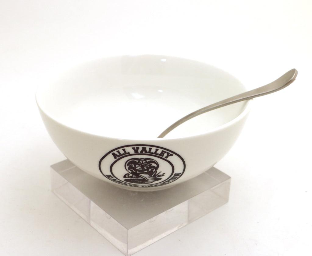Cobra-Kai cereal bowl, ice cream bowl, karate champion