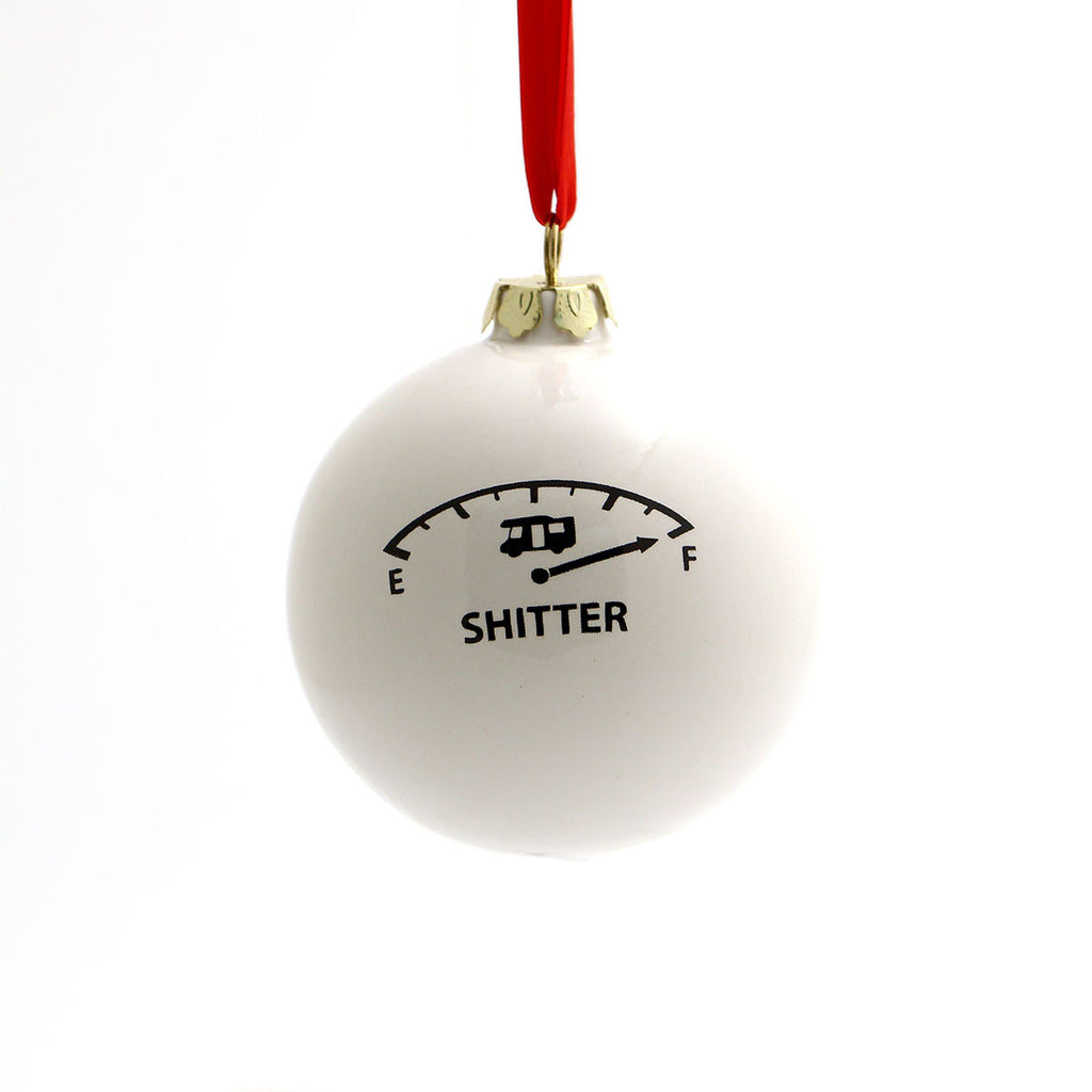 Funny Christmas Ornament, Christmas Vacation Ornament.  This ornament features a homage of a Empty