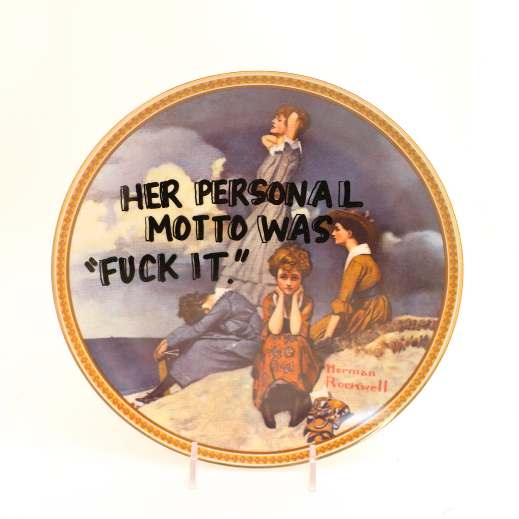 Her personal motto, Dirty Dishes Collection
