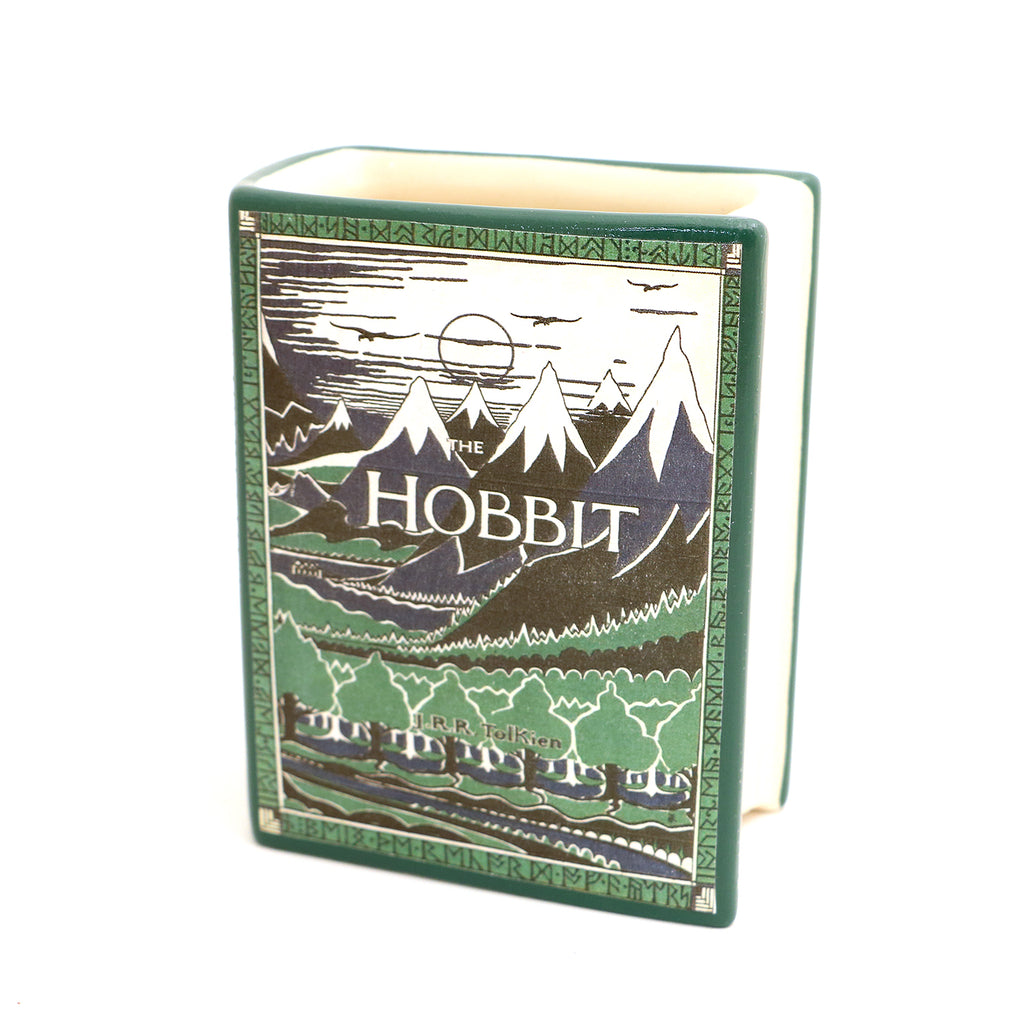 The Hobbit, book shaped pencil holder, vase, funny gift