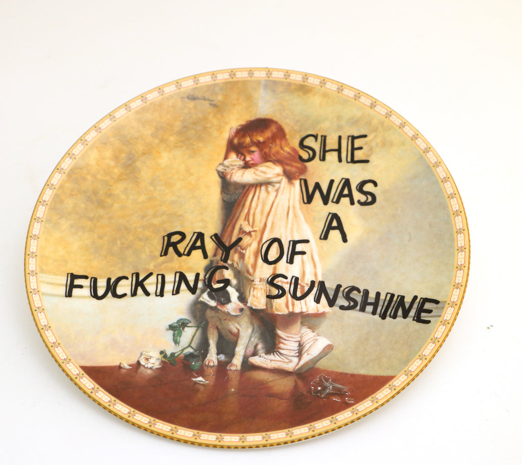 She was a Ray of Sunshine, mature language,  Dirty Dishes Collection