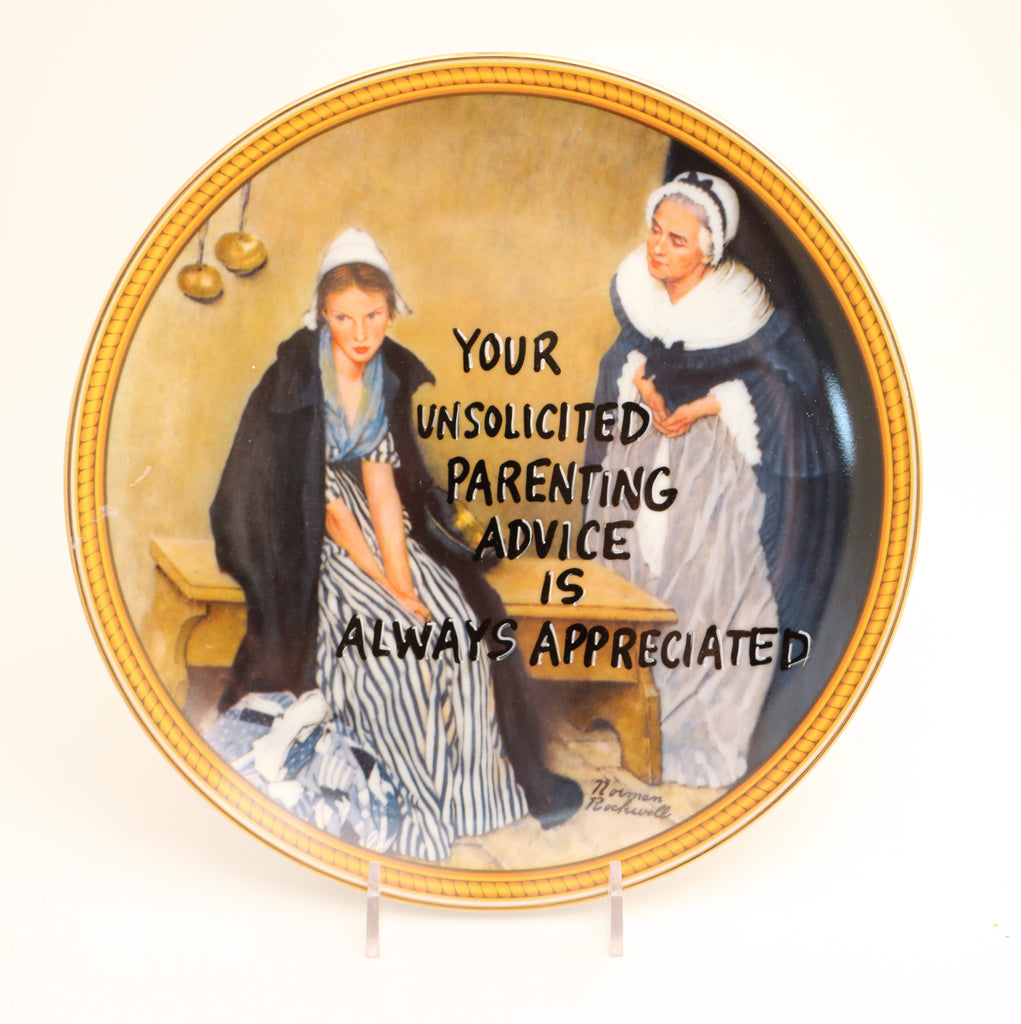Your Unsolicited Parenting Advice, Dirty Dishes Collection, snarky gift
