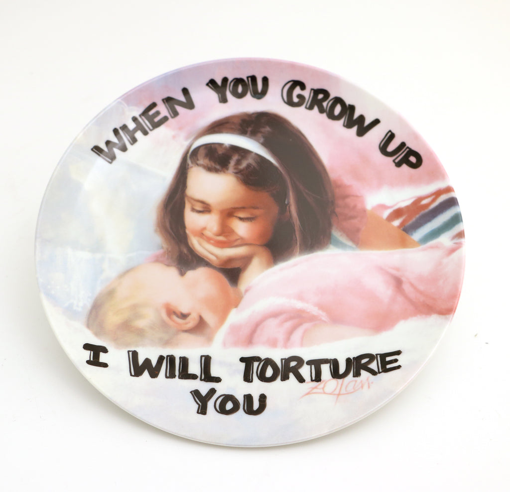 When you grow up I will torture you, sisters,  Dirty Dishes collection