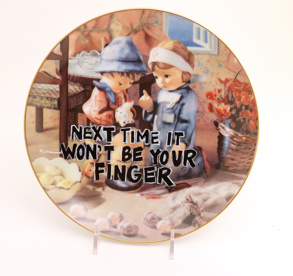 Next time it won't be your finger, Dirty Dishes collection