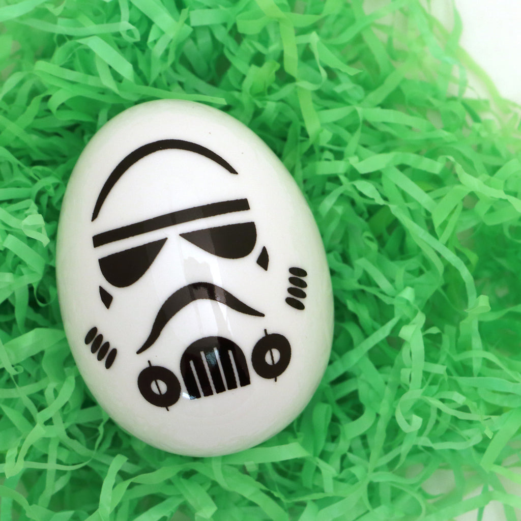 Porcelain Easter egg- Storm Trooper