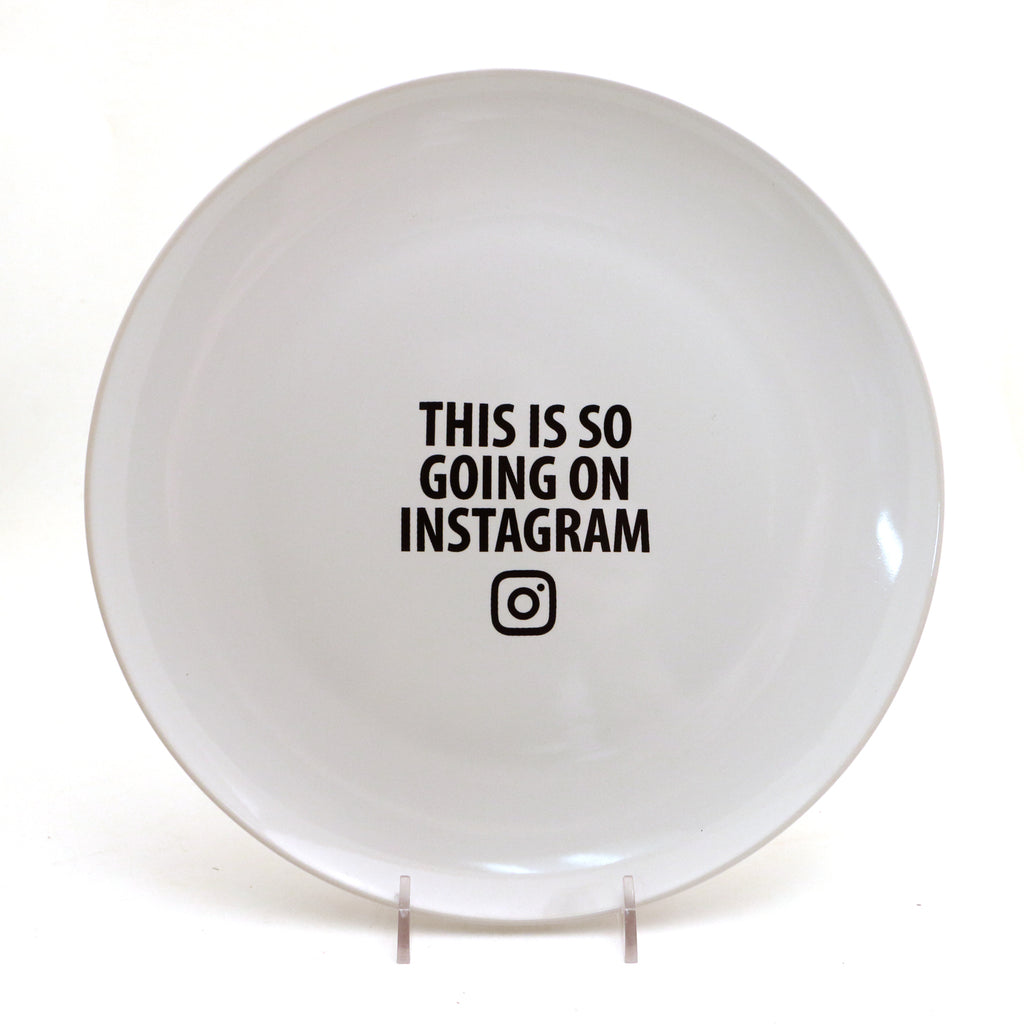 Instagram plate, This is so going on Instagram, serving platter