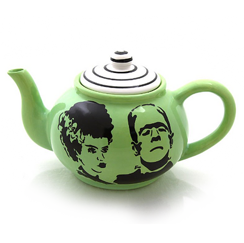 Mr and Mrs Frankenstein Teapot - Made in the USA