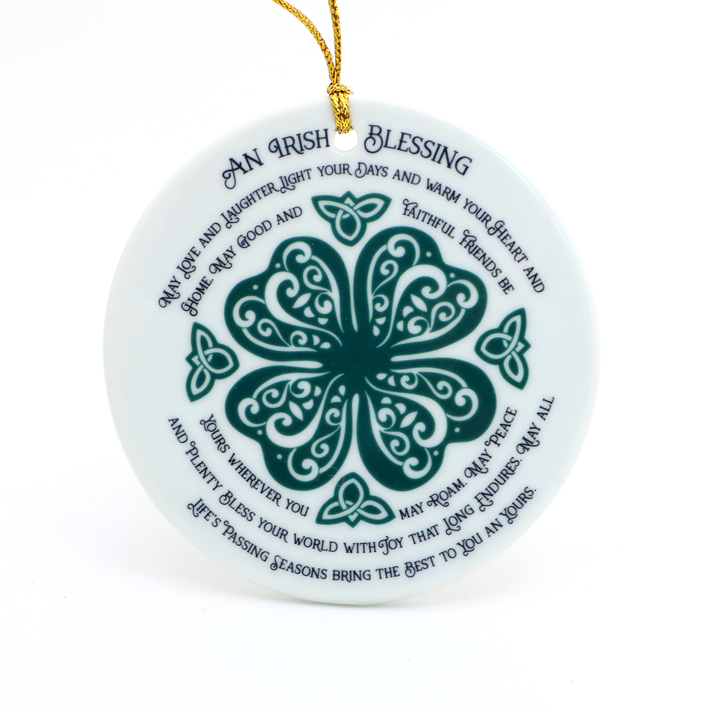 Irish Blessing Plaque / Ornament