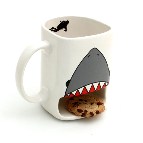 Shark Week Cookie Dunk Mug