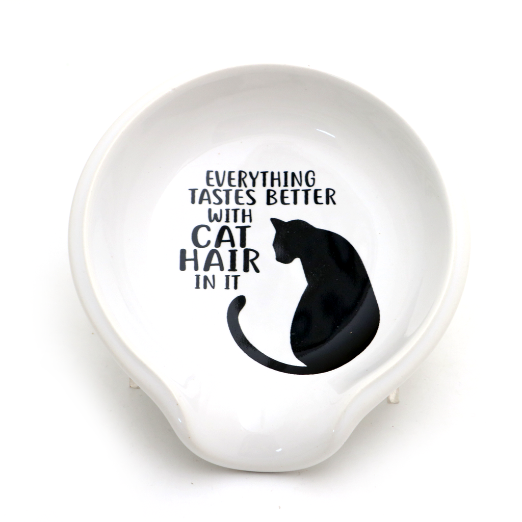 Cat Hair Spoon Rest