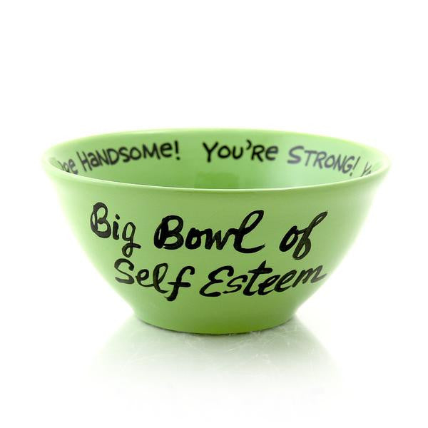 The new trend in affirmations is letting your cereal bowl do the work. Wake up each morning with t