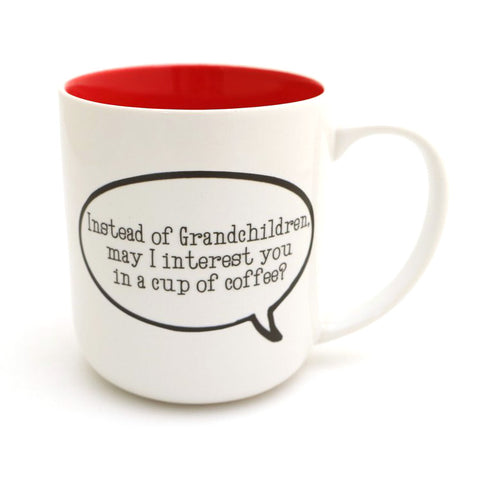 Coffee not Grandkids - Mom's Coffee Mug