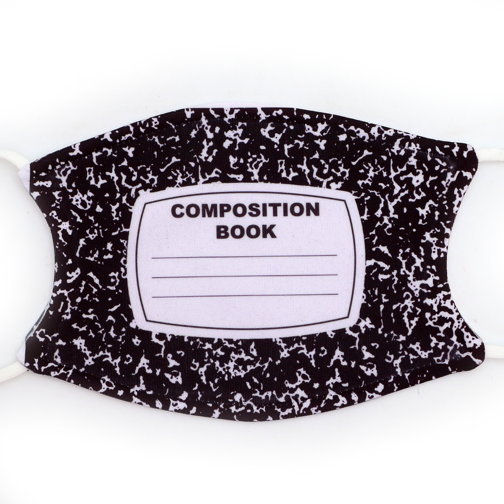 Composition Notebook Mask