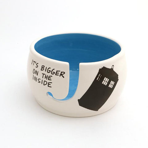 Dr. Who - It's Bigger on the Inside Yarn Bowl