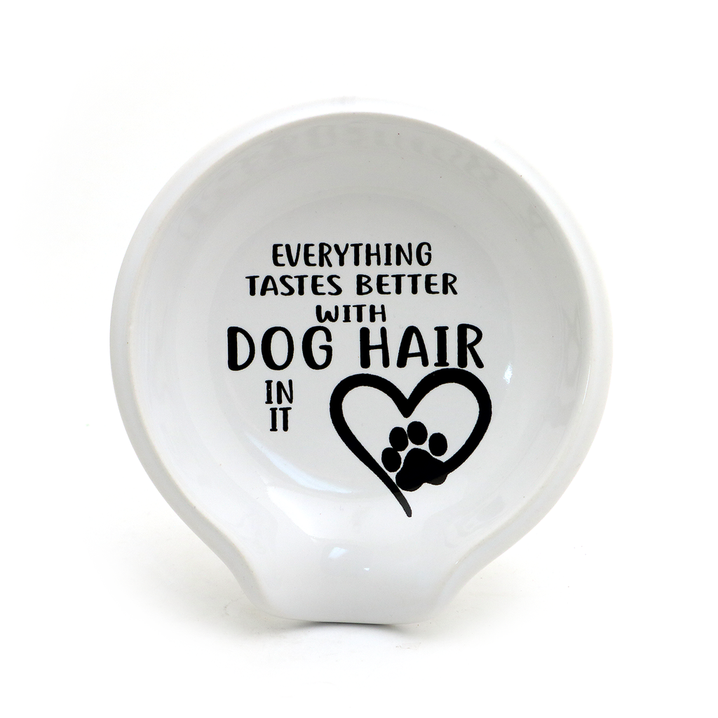 Dog Hair Spoon Rest
