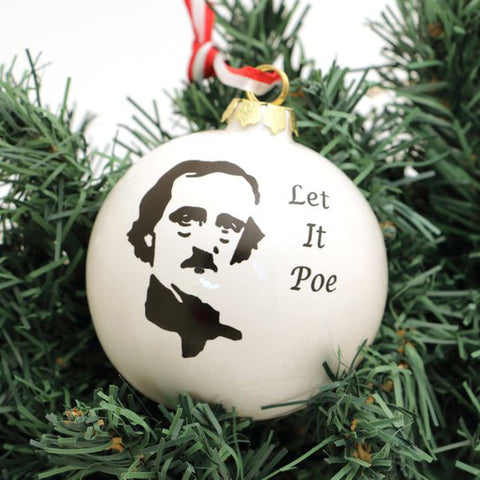 Edgar Allen Poe Ornament