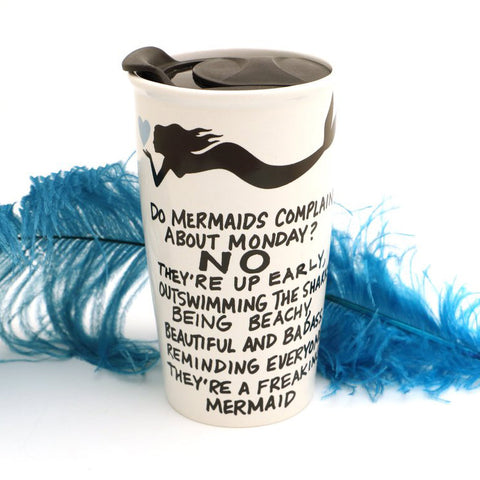 G-Rated Mermaid Travel Mug