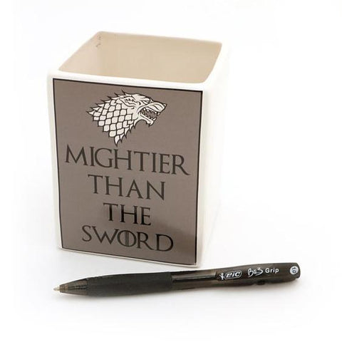 Mightier Than The Sword- Game of Thrones Pencil Cup