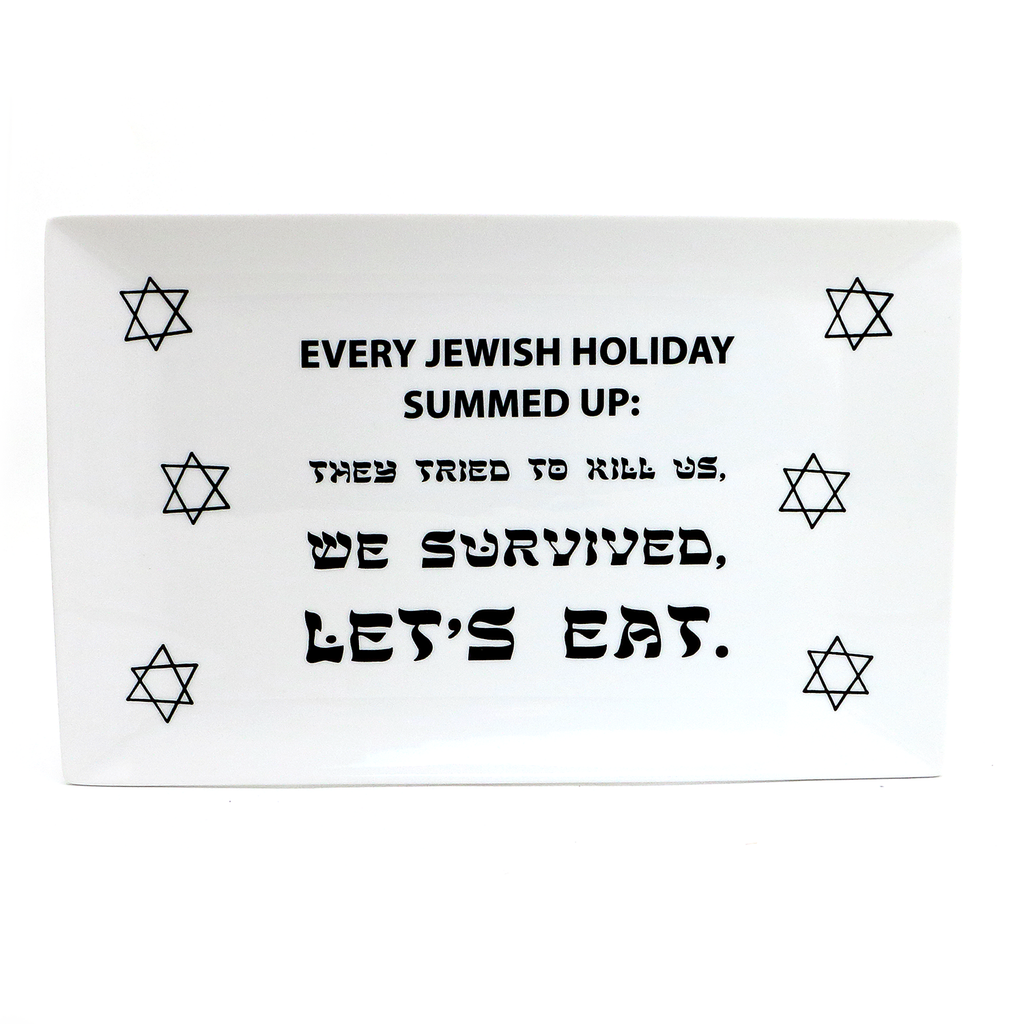 Every Jewish Holiday Platter, Passover celebration, Judaica