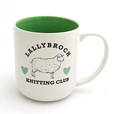 Lallybroch Knitting Club Mug