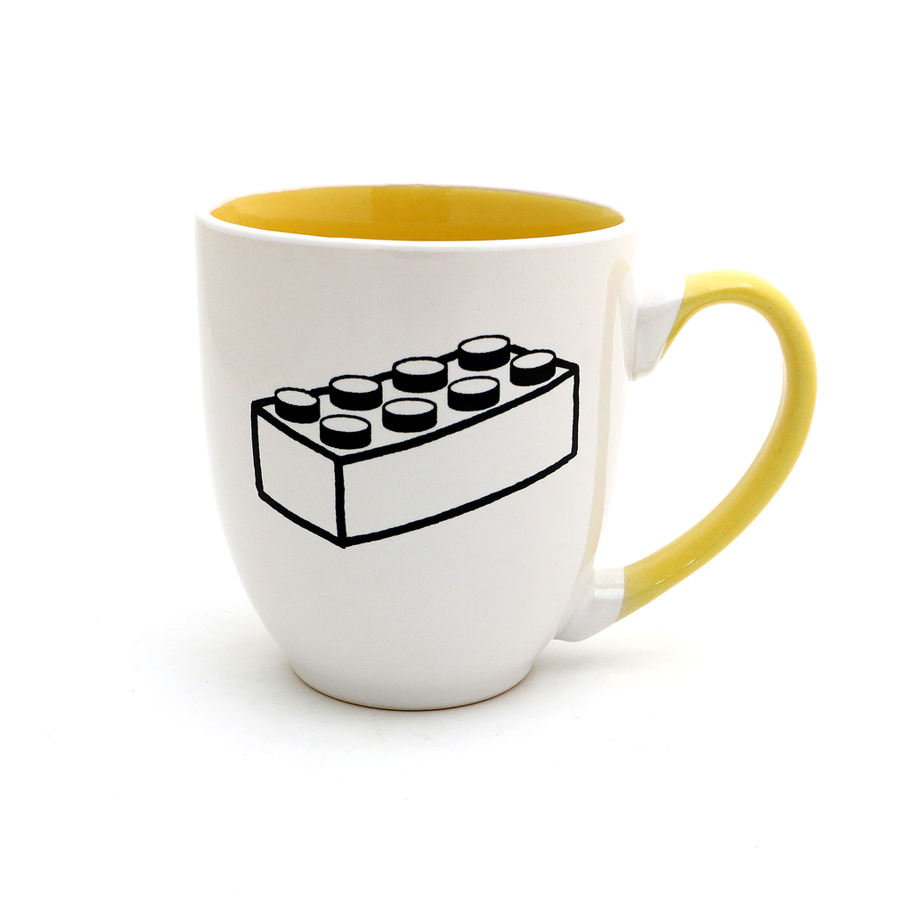 LEGO mug, fun parent mug