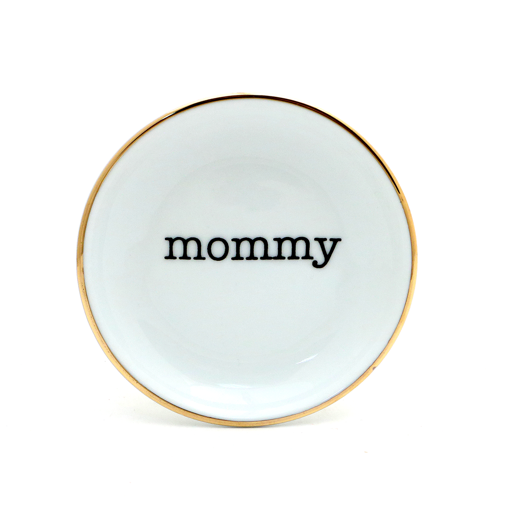 Mommy ring holder, ring dish, Mother's Day gift