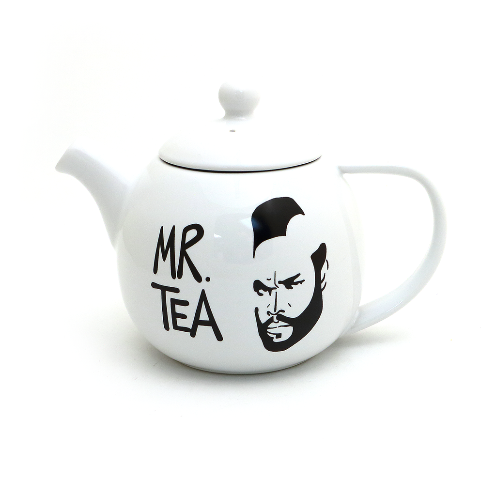 Mr. Tea Small Round Teapot