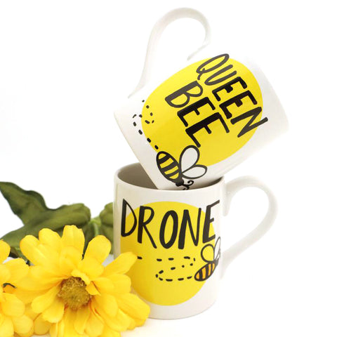 Queen Bee Drone Mug Set
