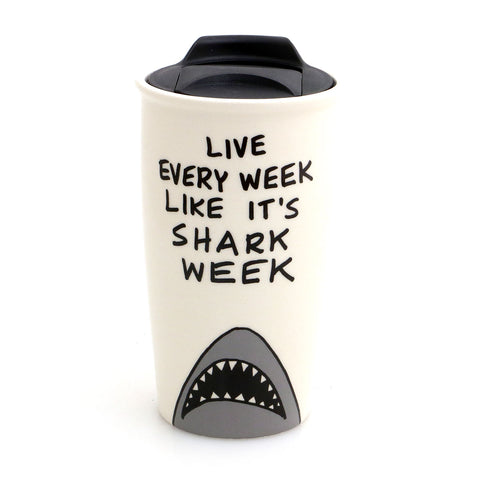 Shark Week Eco Travel Mug