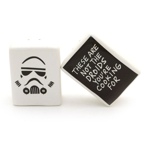 Storm Trooper Salt and Pepper Shakers