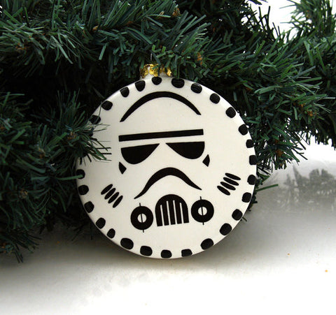 Star Wars Storm Trooper Flat Ornament