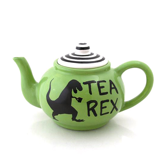 Dinosaur T-Rex tepot, tea-rex handmade tea pot large ceramicRawr means it's time for a cuppa! Dinos