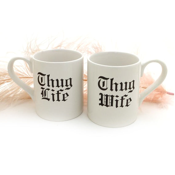 Thug Life Mug Set - Read full description to make this mug set to customize the packaging. Yo- we