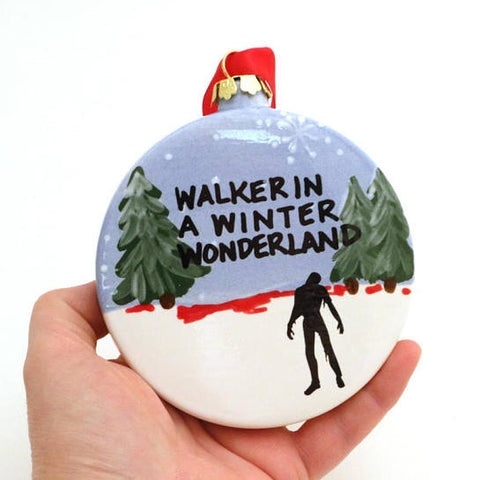 Walking Dead - Walker In A Winter Wonderland Ornament