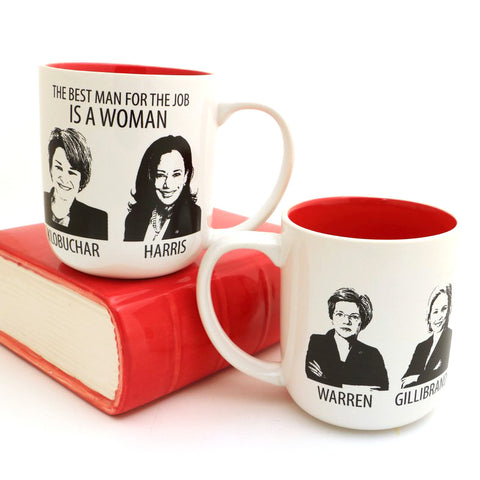 Woman President Mug  Harris, Klobuchar, Warren and Gillibrand