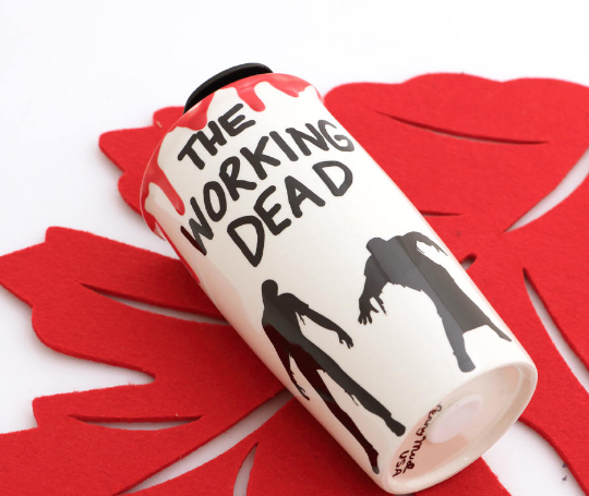 Don't worry if you're dead inside- coffee will bring you back to life. This is a great gift for a W