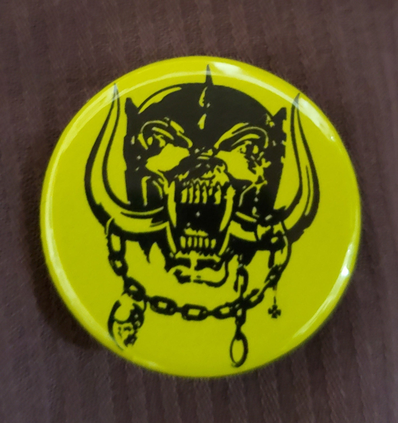 "Motorhead - 1.25"" Button"