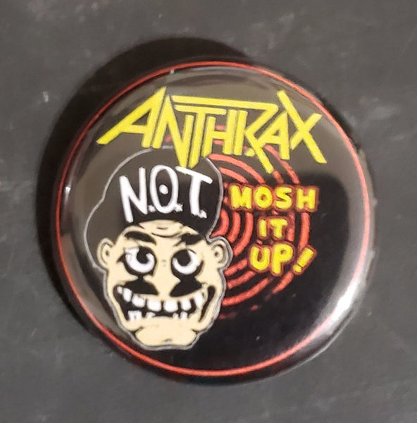 "Anthrax - 1.25"" Button"