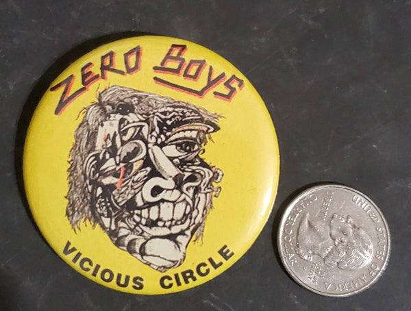"Zero Boys - 2.25"" Button"
