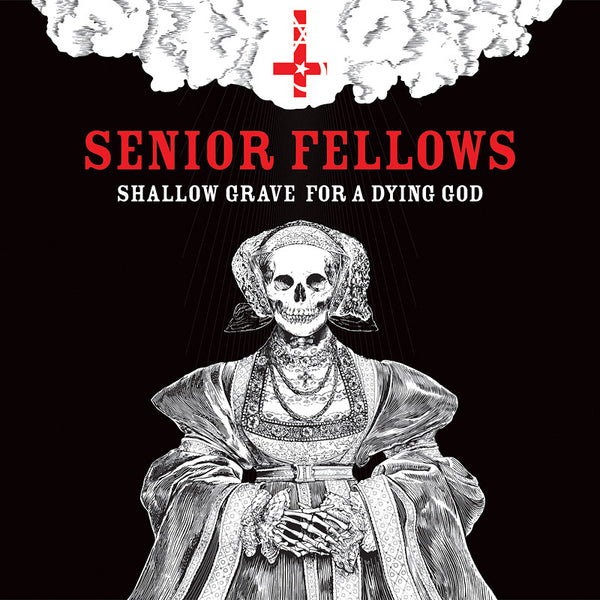 "Senior Fellows ""Shallow Grave For A Dying God"" LP - Dead Tank Records - 1"