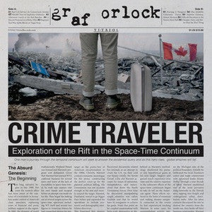 "Graf Orlock ""Crimetraveler"" LP - Dead Tank Records"
