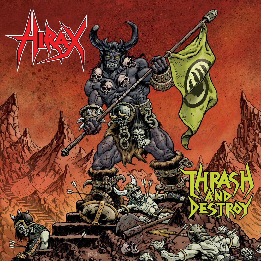 "Hirax ""Thrash and Destroy"" 2xLP - Dead Tank Records"