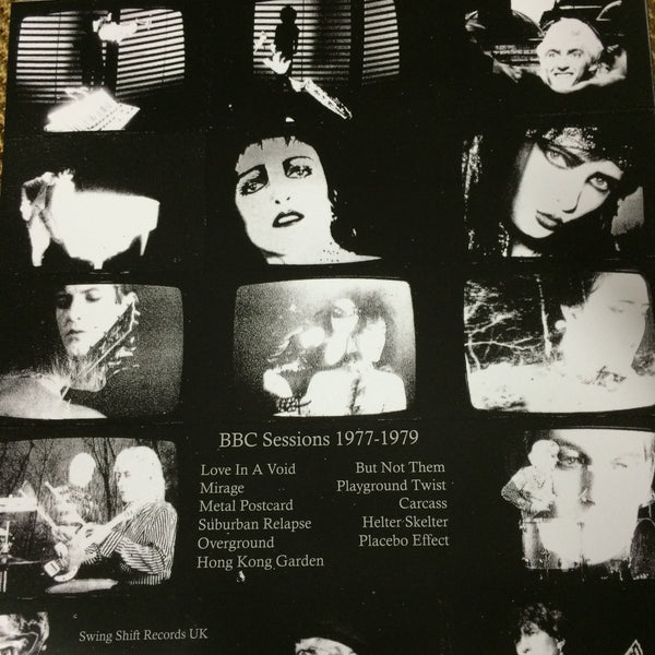 "Siouxsie and the Banshees ""BBC Sessions. 77-79"" LP - Dead Tank Records - 2"
