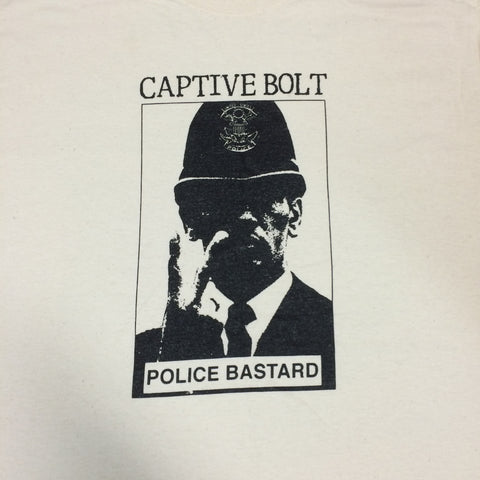 "Captive Bolt ""Police Bastard"" Shirt"