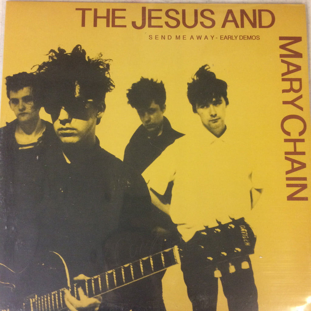 "Jesus and Mary Chain ""Send Me Away: The Early Demos"" LP - Dead Tank Records"
