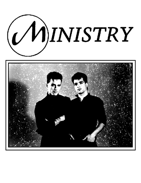 Ministry - Shirt