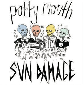 "Potty Mouth ""Sun Damage"" LP - Dead Tank Records"