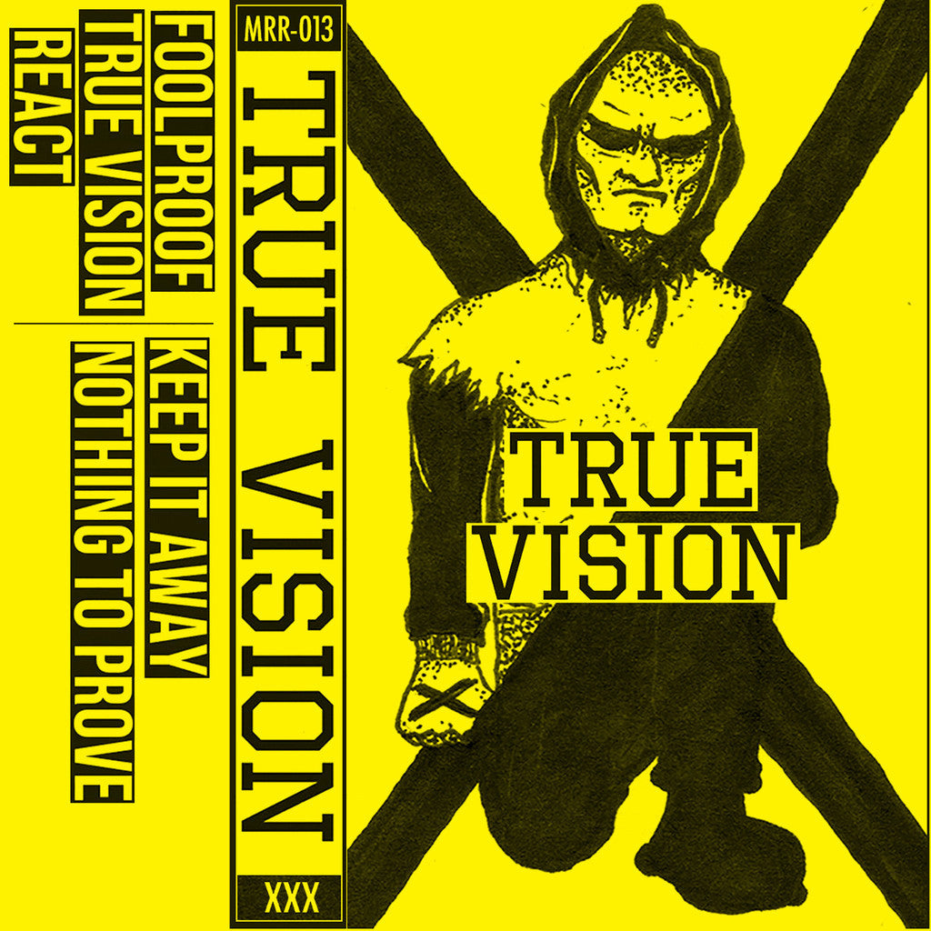 "True Vision ""Demo 2015"" Tape - Dead Tank Records"