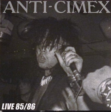"Anti-Cimex ""Live '85-'86"" LP - Dead Tank Records"