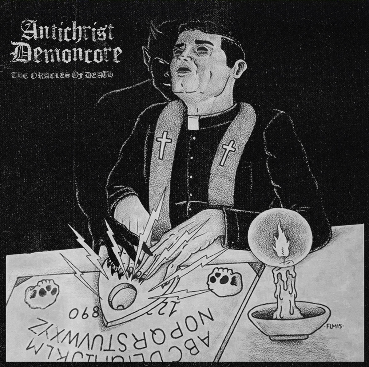 "Antichrist Demoncore ""The Oracles of Death"" LP"